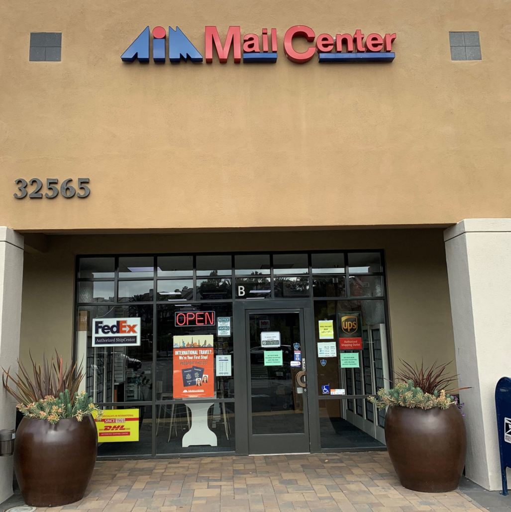 AIM Mail Center Dana Point
